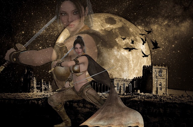 woman warrior photo