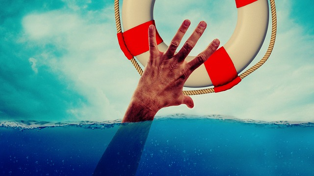 throwing life preserver photo